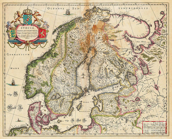 Old World Map Of Europe Poster By Inspired Nature Photography Fine