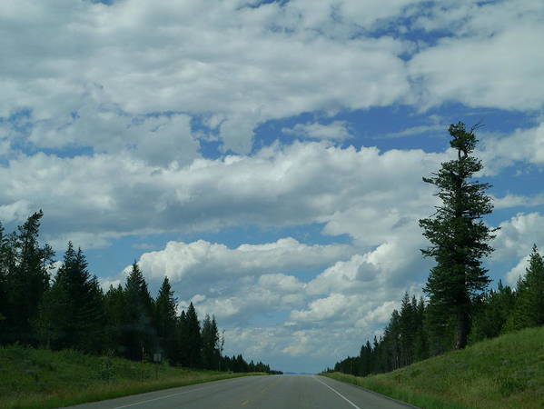 Idaho Poster featuring the photograph On The Way Again by Christiane Schulze Art And Photography