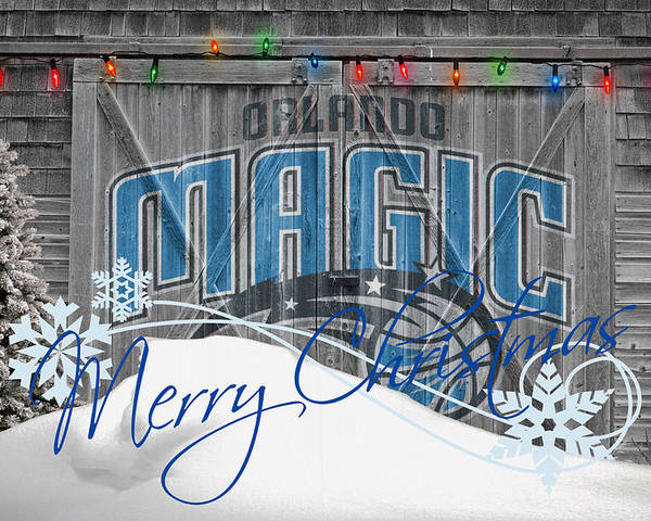 Magic Poster featuring the photograph Orlando Magic by Joe Hamilton