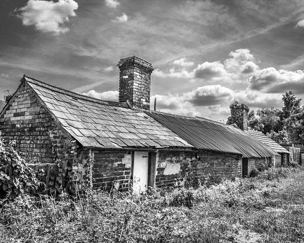 Outbuildings Poster featuring the photograph Outbuildings. by Gary Gillette