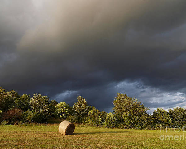 Overcast Poster featuring the photograph Overcast - Before Rain by Michal Boubin