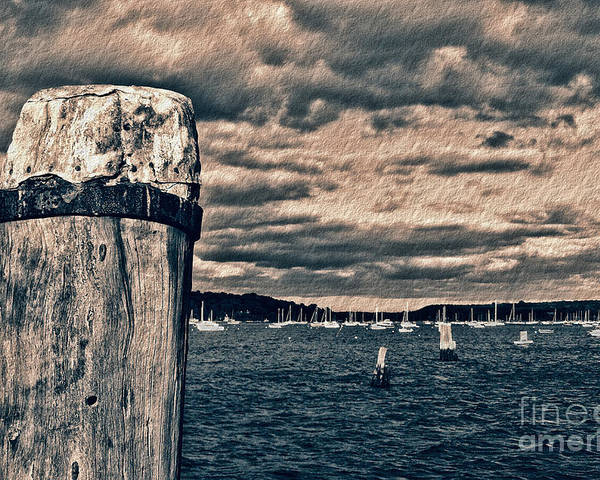 Oyster Bay Poster featuring the photograph Oyster Bay by Jeff Breiman