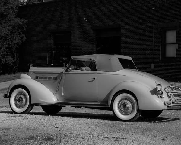 Packard Eight Poster featuring the photograph Packard Eight by David Jeffries