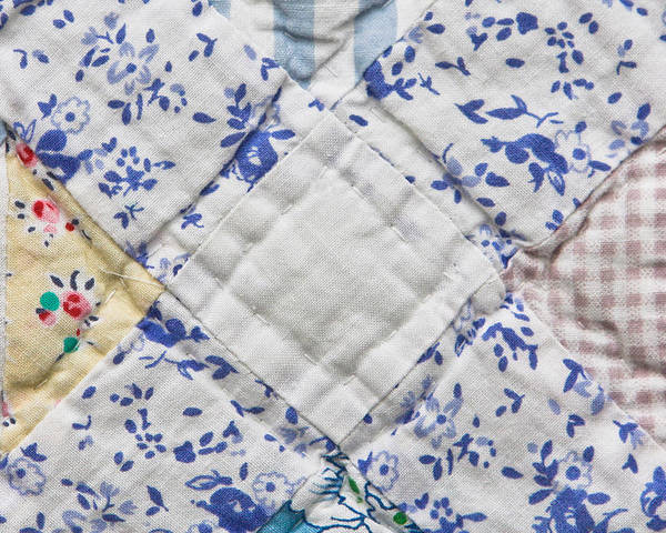Background Poster featuring the photograph Patchwork Quilt by Tom Gowanlock