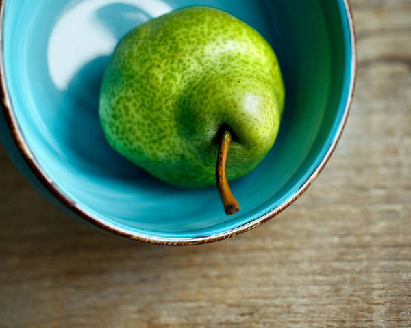 Pear Poster featuring the photograph Pears by Nailia Schwarz