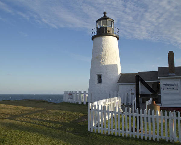 Pemaquid Point Poster featuring the photograph Pemaquid Point Lighthouse by Craig Bohanan