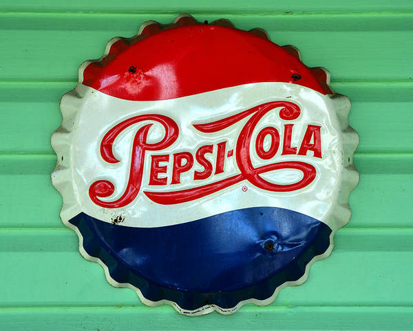 Pepsi Cola Poster featuring the photograph Pepsi Cap by David Lee Thompson