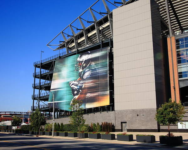America Poster featuring the photograph Philadelphia Eagles - Lincoln Financial Field by Frank Romeo