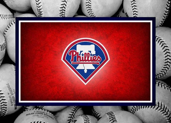 Philles Poster featuring the photograph Philadelphia Philles by Joe Hamilton