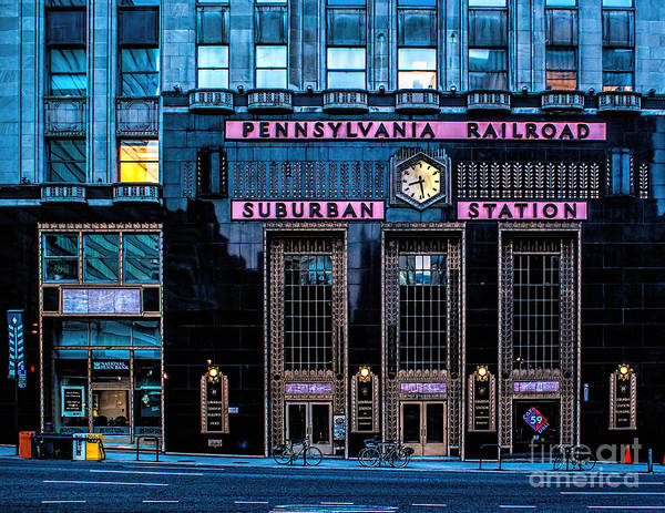 Suburban Poster featuring the photograph Philadelphia Suburban Station by Nick Zelinsky