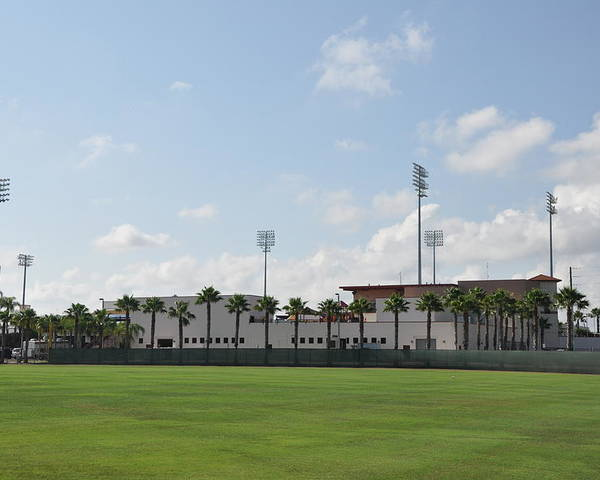 Phillies Poster featuring the photograph Phillies Brighthouse Stadium Clearwater Florida by Bill Cannon