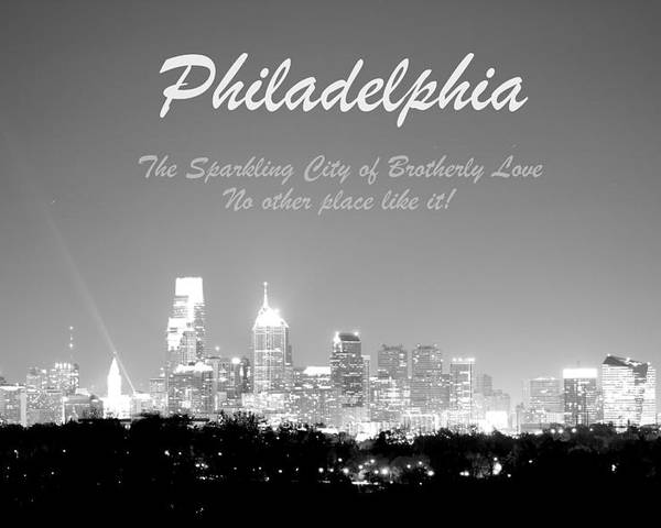 Philadelphia Poster featuring the photograph Philly Glow by Deborah Crew-Johnson