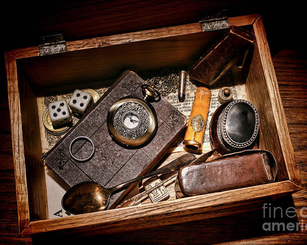 Keepsake Poster featuring the photograph Pioneer Keepsake Box by Olivier Le Queinec