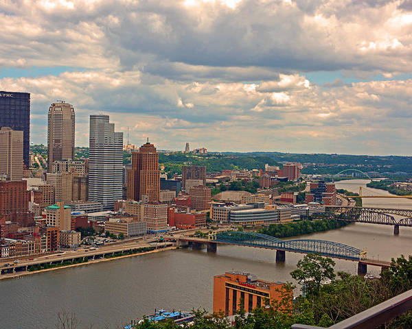 Poster featuring the photograph Pittsburgh Pa by James Young