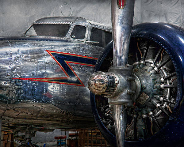 Plane Poster featuring the photograph Plane - Hey Fly Boy by Mike Savad