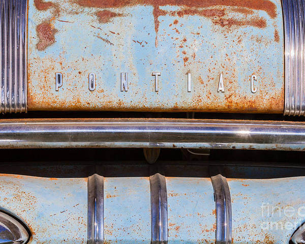 Car Poster featuring the photograph Pontiac by Ashley M Conger