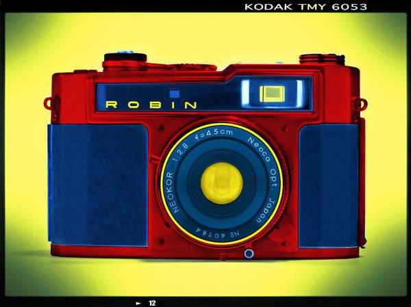 Pop Art Poster featuring the photograph Pop Art Robin by Mike McGlothlen