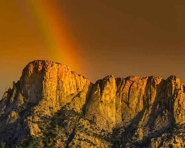 Acrylic Prints Poster featuring the photograph Pot Of Gold by Mark Myhaver