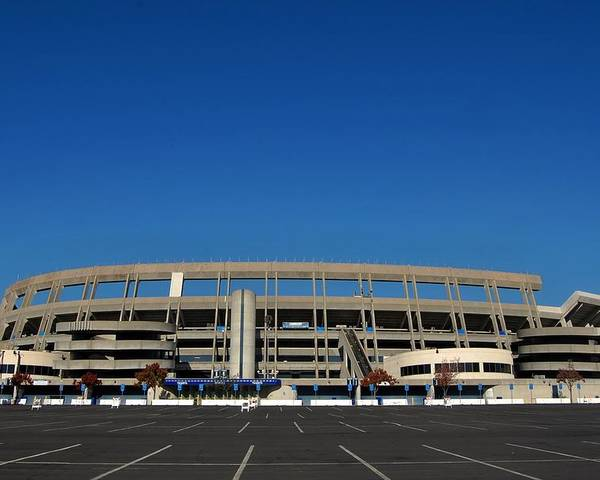 Qualcomm Stadium Poster featuring the photograph Qualcomm Stadium by See My Photos