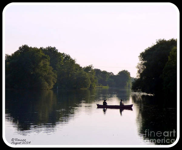 Nature Poster featuring the photograph Quiet Time by Rennae Christman