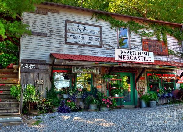 Rabbit Hash Poster featuring the photograph Rabbit Hash Mercantile by Mel Steinhauer