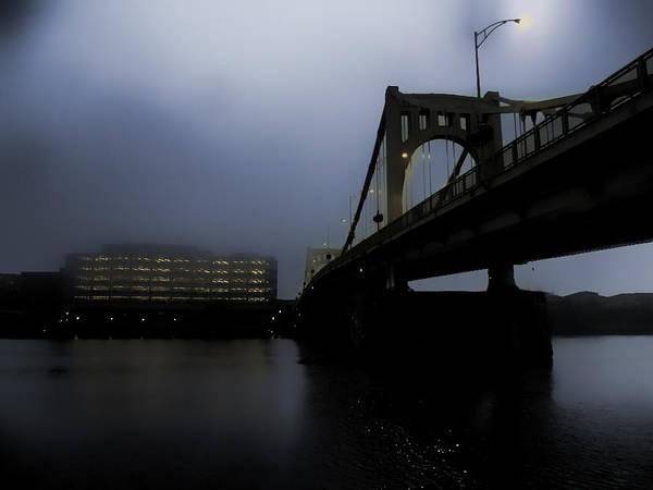 Pittsburgh Poster featuring the photograph Rachel Carson Bridge by S Patrick McKain