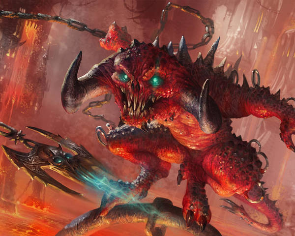 Magic The Gathering Poster featuring the digital art Rakdos Cackler by Ryan Barger