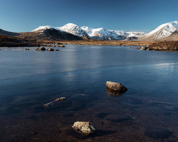 Scenics Poster featuring the photograph Rannoch Moor by Alexander W Helin