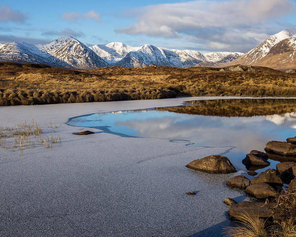 Poster featuring the photograph Rannoch Moor by Tomas Urban