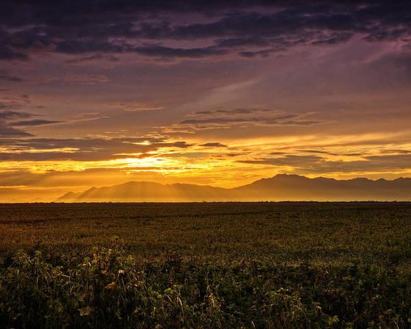 Sunset Poster featuring the photograph Rays Of Hope by Saija Lehtonen