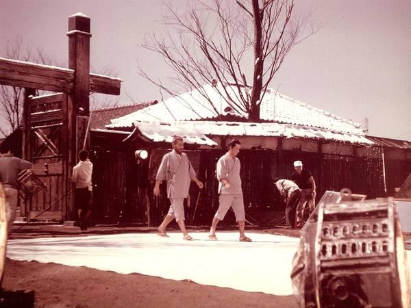 Akira Kurosawa Poster featuring the photograph Red Beard Tishiro Mifune by Dan Twyman