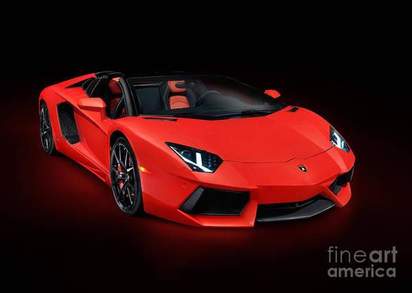 red lamborghini aventador lp 700 4 roadster sports car. Black Bedroom Furniture Sets. Home Design Ideas