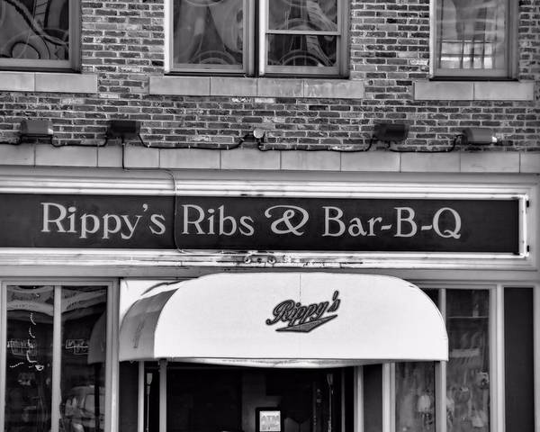 Rippy's Ribs And Bar Bq Poster featuring the photograph Rippy's Ribs And Bar Bq by Dan Sproul