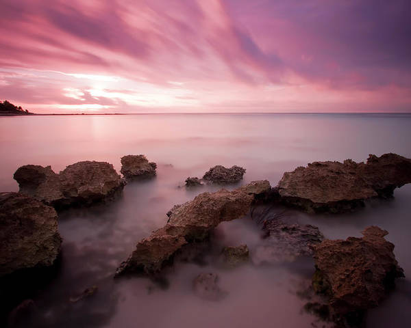 3scape Photos Poster featuring the photograph Riviera Maya Sunrise by Adam Romanowicz