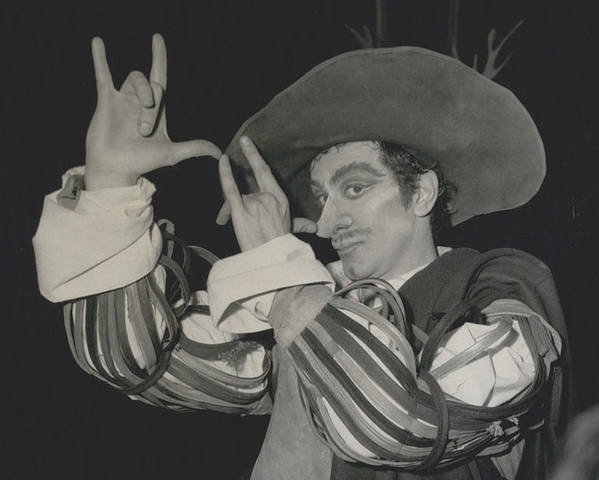 """retro Images Archive Poster featuring the photograph Roland Petit, Makes """"cyrano De Bergerac"""" Into A Ballet by Retro Images Archive"""