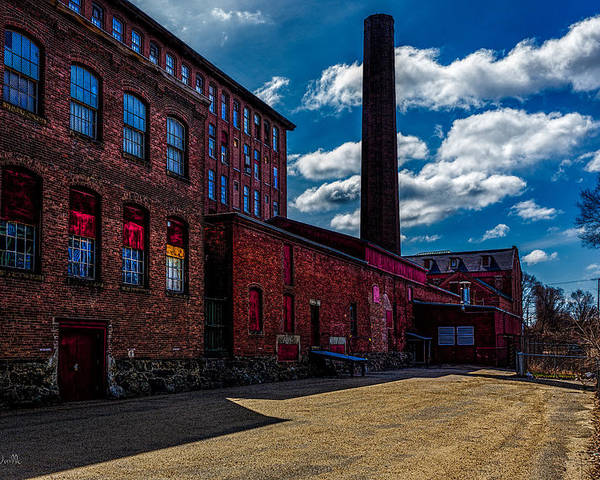 Bob Orsillo Poster featuring the photograph Roy Hill Roy Continental Mill by Bob Orsillo