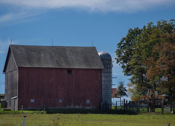 Barn Poster featuring the photograph Rt 66 Barn by Anthony Thomas