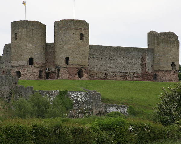 Castles Poster featuring the photograph Ruddlan Castle 2 by Christopher Rowlands
