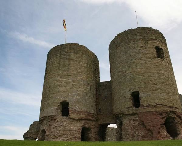 Castles Poster featuring the photograph Ruddlan Castle by Christopher Rowlands