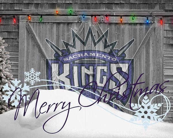 Kings Poster featuring the photograph Sacramento Kings by Joe Hamilton