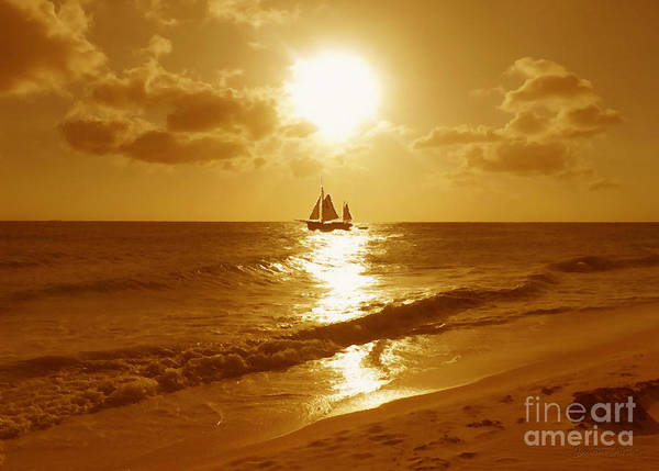 Sail Poster featuring the photograph Sail On by Cristophers Dream Artistry