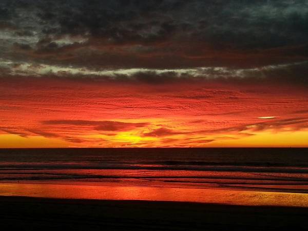 San Diego Sunset Poster featuring the photograph San Diego Sunset by Mark Nareau