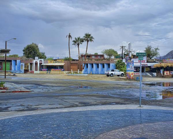 San Felipe Poster featuring the photograph San Felipe Thunderstorm by Hugh Smith