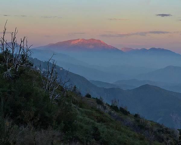 San Poster featuring the photograph San Jacinto Sunset by Randal Bruck