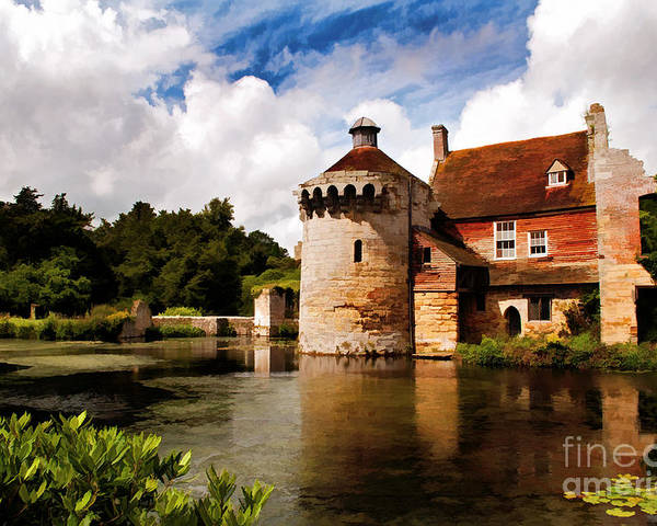 Scotney Castle Poster featuring the photograph Scotney Castle by Bel Menpes