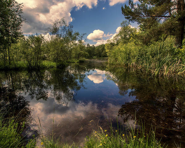 Loch Poster featuring the photograph Scottish Refections by Sam Smith Photography