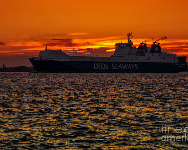 Bay Poster featuring the photograph Seaways by Svetlana Sewell