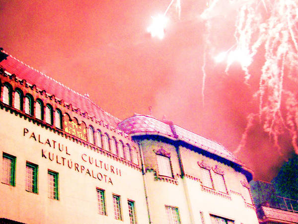 Secession Poster featuring the photograph Secession Under Firework by Zsombor Balint