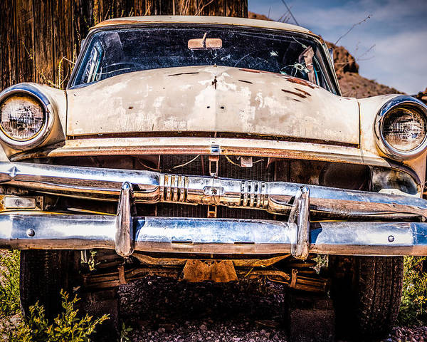 1953 Ford Antique Automobile Poster featuring the photograph Seen Better Days by Onyonet Photo Studios