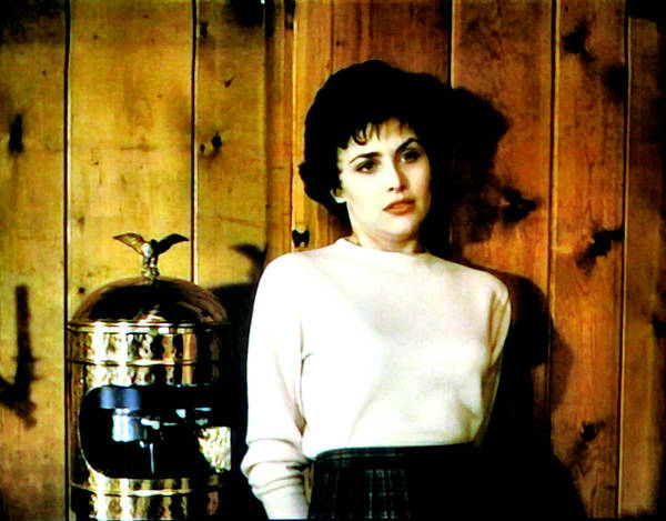 Laura Palmer Poster featuring the painting Shed Been Murdered by Luis Ludzska